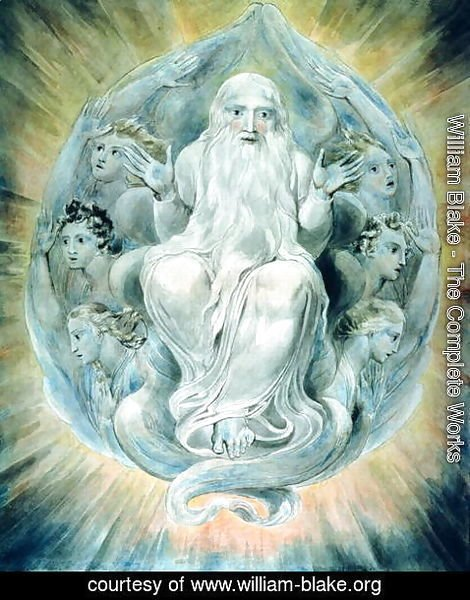 William Blake - And God Blessed the Seventh Day and Sanctified It
