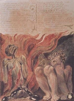 William Blake - Book of Urizen- 'from the caverns of his jointed spine', 1794