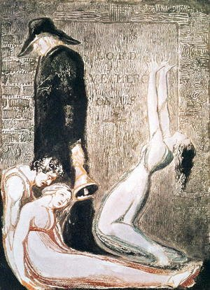 William Blake - Europe a Prophecy- Plague, c.1794