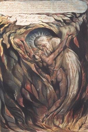 William Blake - Jerusalem The Emanation of the Giant Albion- plate 99 'All Human Forms'