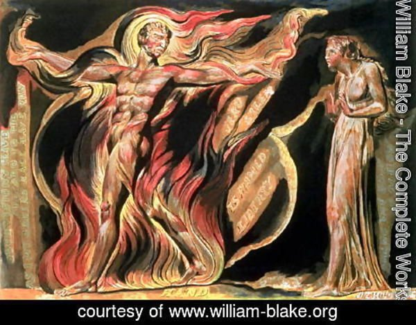 William Blake - Jerusalem The Emanation of The Giant Albion- 'Such visions have appeared to me', 1804