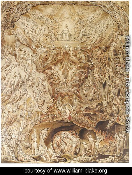 William Blake - Last Judgement 1808