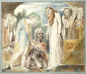William Blake - Pardon of Absalom