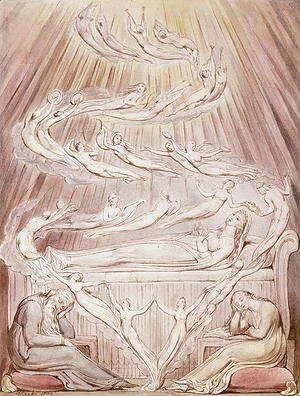 William Blake - Queen Katherine's Dream