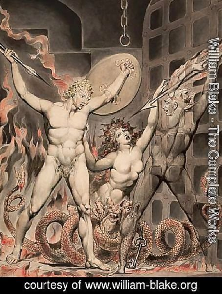 Satan, Sin, and Death- Satan Comes to the Gates of Hell
