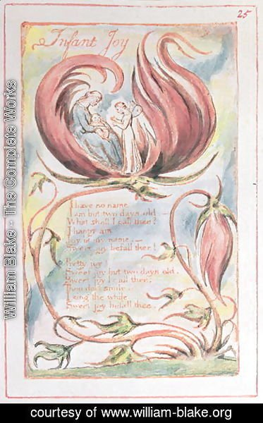 Songs of Innocence- Infant Joy, 1789