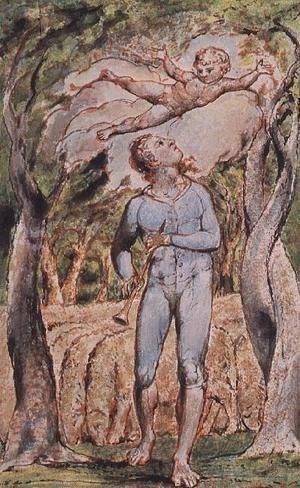 William Blake - Songs of Innocence; 'the Piper'