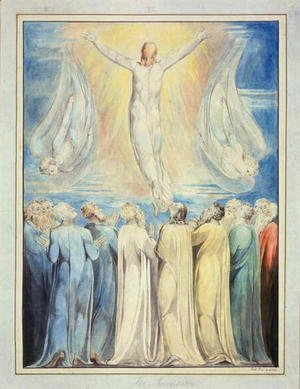 William Blake - The Ascension, c.1805-6