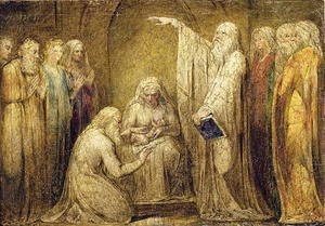 William Blake - The Circumcision 1799-1800
