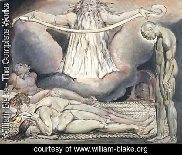 William Blake - The Lazar House, 1795