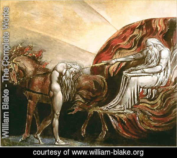 William Blake - God Judging Adam