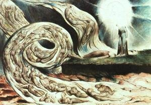 William Blake - The Whirlwind of Lovers