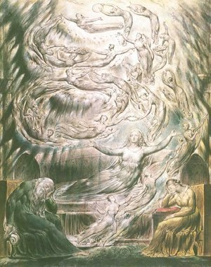 William Blake - Queen Katherine's Dream 2