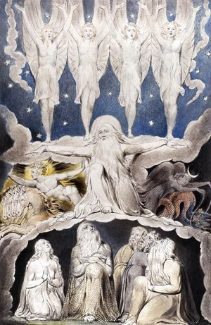 William Blake - The Book of Job: When the Morning Stars Sang Together