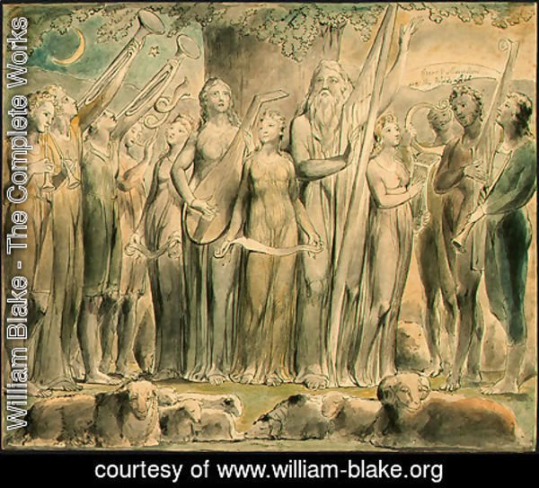 William Blake - The Complete Works - The Resurrection - william