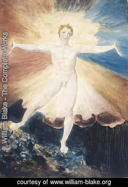 William Blake - Albion Rose