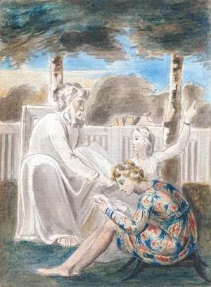 William Blake - Age Teaching Youth
