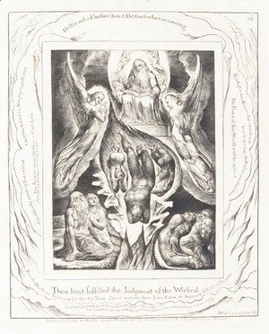 William Blake - Illustrations of the Book of Job
