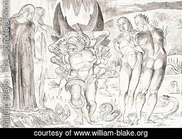 William Blake - Illustrations to Dante's Divine Comedy