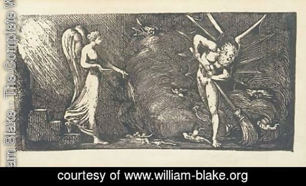 William Blake - The Man sweeping the Interpreter's Parlour