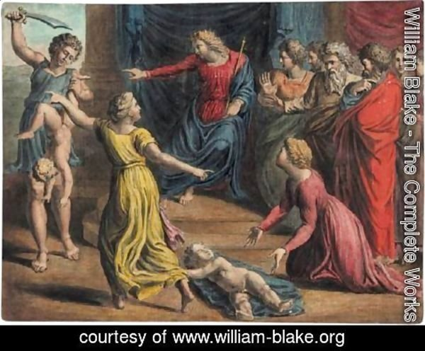 William Blake - The Judgement Of Solomon