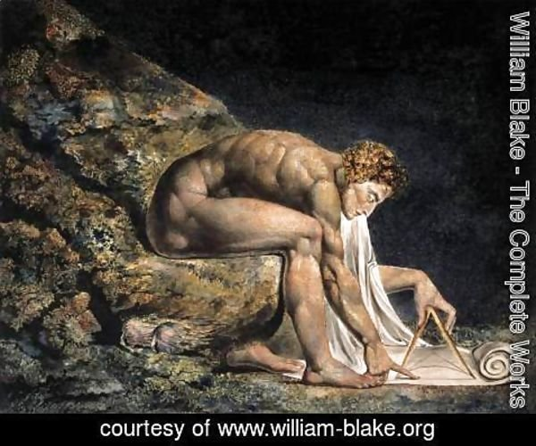 William Blake - Isaac Newton 1795