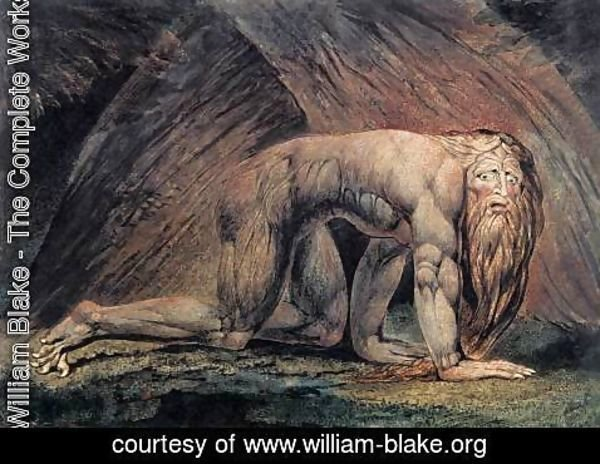 William Blake - Nebuchadnezzar 1795