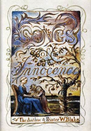 William Blake - Songs Of Innocence (Title Page)