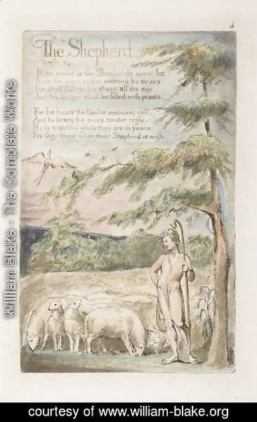 William Blake - The Shepherd