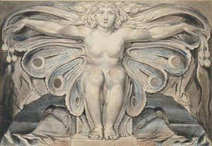 William Blake - The Grave Personified