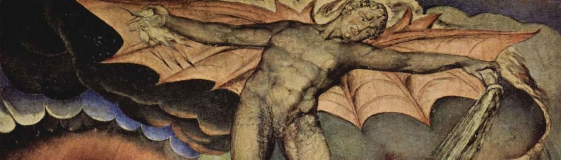 William Blake - Satan Inflicting Boils on Job