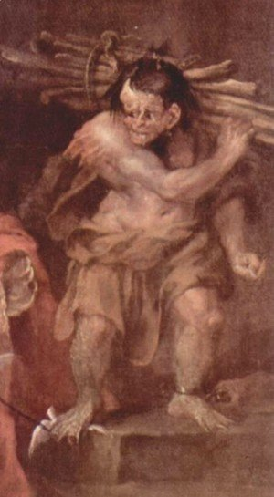 William Blake - Caliban in The Tempest by William Shakespeare