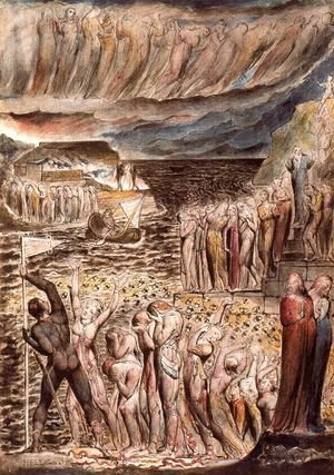 William Blake - Illustration to Dante's Divine Comedy, Hell