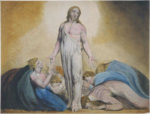 William Blake - Christ Appearing to His Disciples After the Resurrection