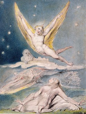 William Blake - Night Startled by the Lark