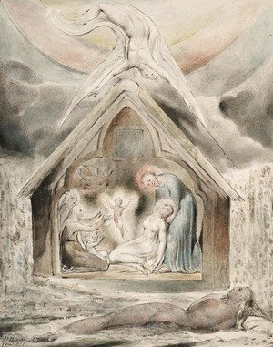 William Blake - The Night of Peace