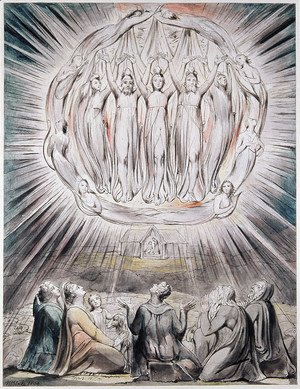 William Blake - The Angels appearing to the Shepherds