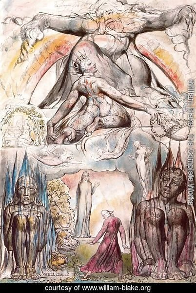 Illustration to Dante's Divine Comedy, Hell 2