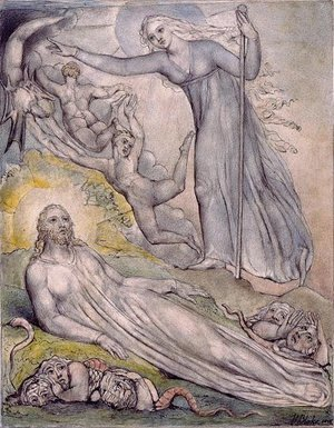 Illustration to Milton's Comus