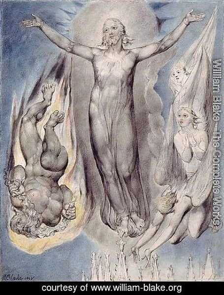 William Blake - Illustration to Milton's Comus 2