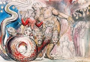 William Blake - The Harlot and the Giant