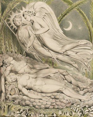 Illustration to Milton's Paradise Lost 6