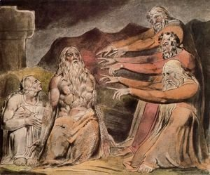 William Blake - Illustration to Book of Job