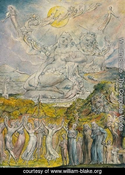 William Blake - A Sunshine Holiday