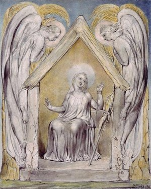 William Blake - Illustration to Milton's Comus 3