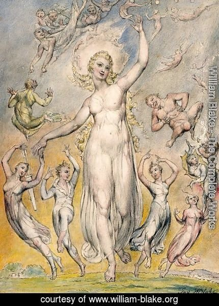 William Blake - Mirth