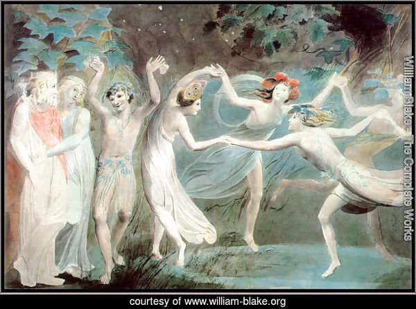 Oberon, Titania and Puck with Fairies Dancing 2