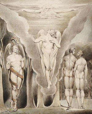 Illustration to Milton's Paradise Lost 11