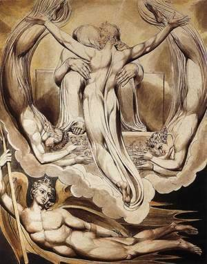 William Blake - Christ as the Redeemer of Man 1808
