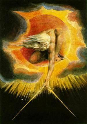 William Blake - God as an Architect, illustration from The Ancient of Days 1794